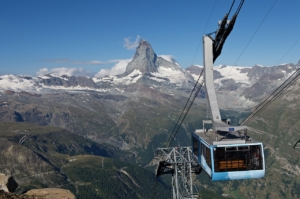 Ropeway to Rothorn