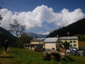 フォルクラ峠、Col de la Forclaz 1526m