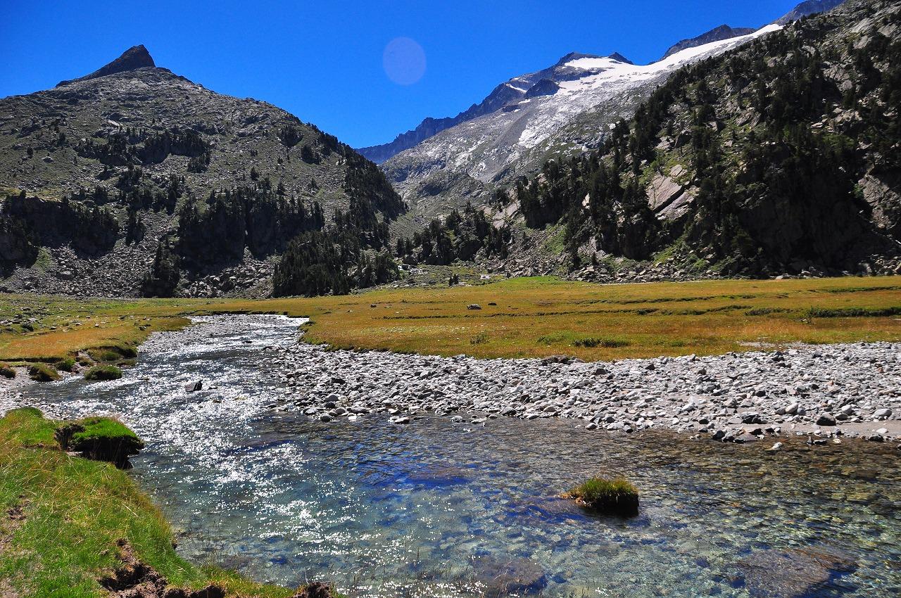 アイギュアイエ湿原とアネト山