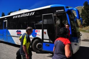 ベスルタからの路線バス
