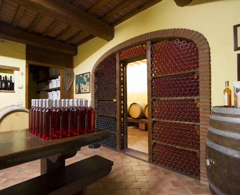 サントステファノのワインセラー