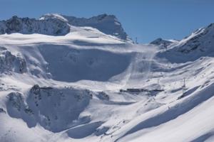 レッテンバッハ氷河スキーエリア