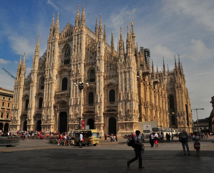 ミラノの大聖堂ドゥオーモ