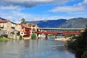 バッサーノデルグラッパのアルピニ橋