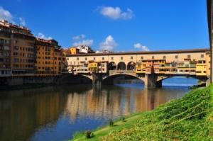 フィレンツェのポンテヴェッキオ橋
