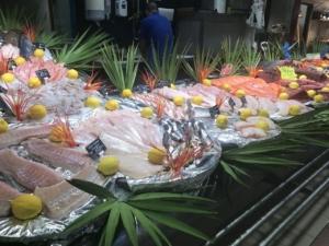 バイヨンヌの市場