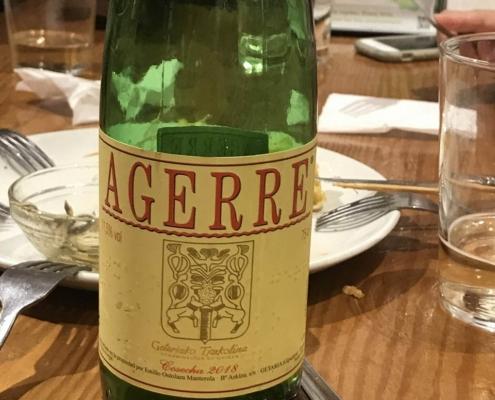 チャコリ(微発砲ワイン)、サン・セバスチャンのバル