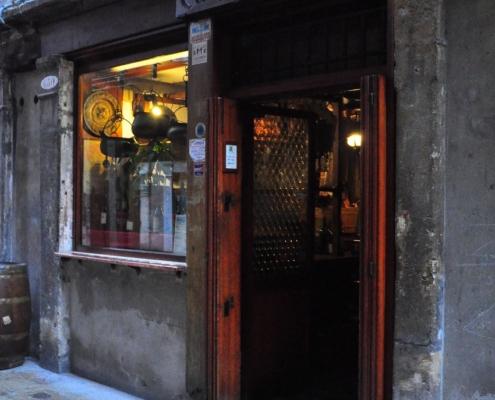 バーカロの名店、ド・モリ(ヴェネチア)