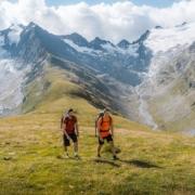 ホーエムートアルム・ハイキング(2670m、オーバーグルグル)