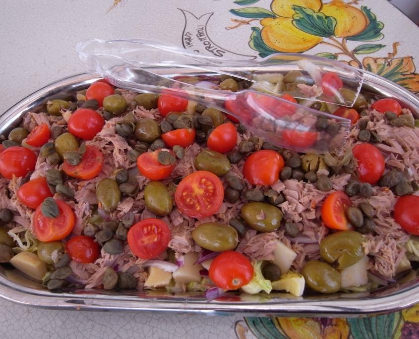 ツナサラダ、シチリア