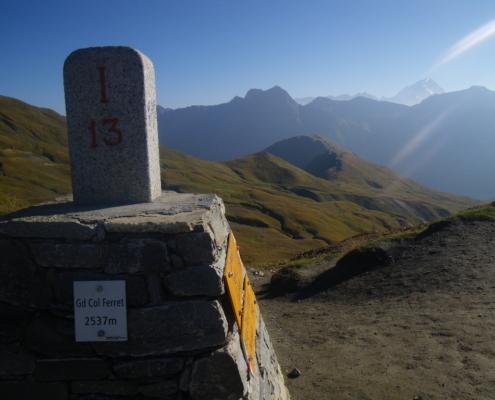 Gland Col Ferret 2537m