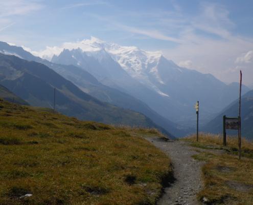 バルム峠、Col de Balme 2191m
