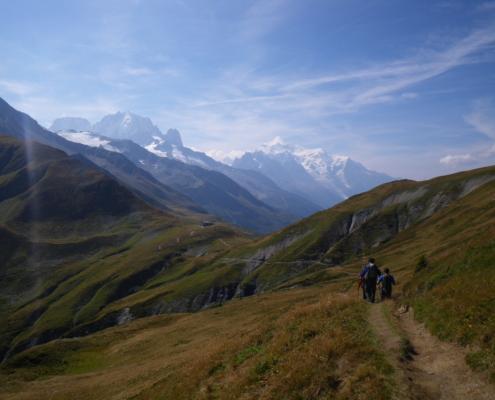 TMB DAY7 バルム峠へ to Col du Balme