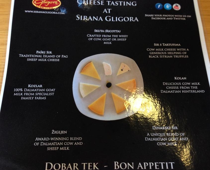 パグチーズのテイスティング