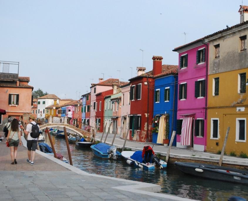 ヴェネチアのブラーノ島