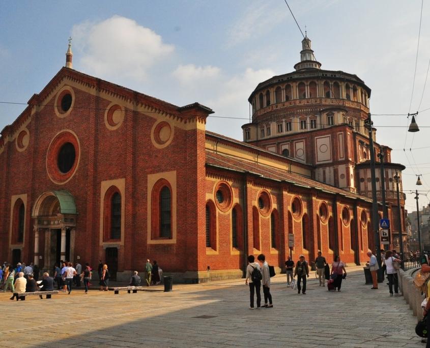 ミラノのサンタ・マリア・デッレ・グラチエ教会