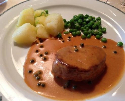 ホテル・ウティア・デ・ボルツの夕食