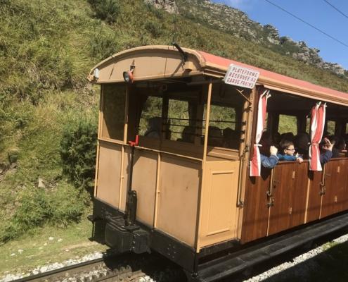 ラ・リューヌ登山鉄道