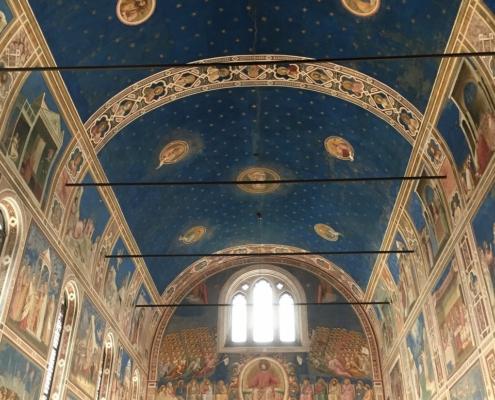 ジョットのフレスコ画、スクロヴェーニ礼拝堂