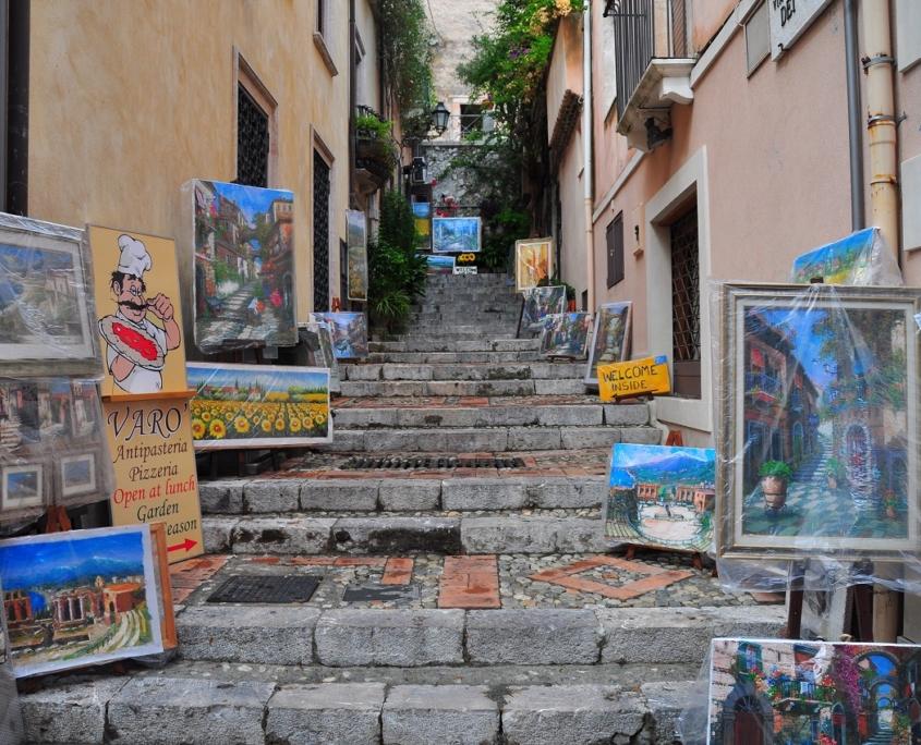 タオルミーナ、シチリア島