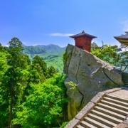 山寺・ 宝珠山立石寺(開山堂・納経堂)