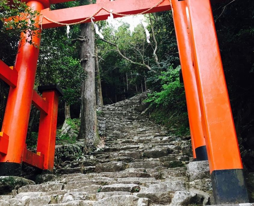 第5回 神倉神社 岩の階段