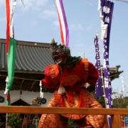 蓮華会舞(隠岐国分寺) 写真提供:隠岐の島町役場