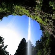 壇鏡の滝(壇鏡神社)_隠岐の島
