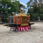 膳所神社のお神輿