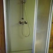 ベルリナー小屋のシャワー