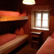 ベッラヴィスタ小屋の個室