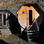 ベッラヴィスタ小屋のサウナ