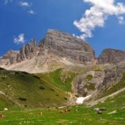 ラングアルムの放牧とパテルノ山