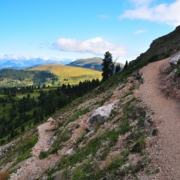 プティア山西側の登り