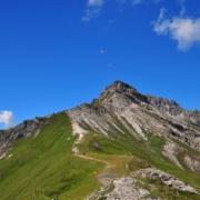 ゼンヨッホ付近から見た、ホーエ・ブルグストール(2611m)