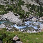 エスプルムース滝、上部