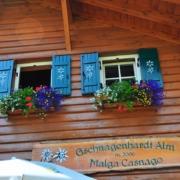 マルガ・カスナーゴ小屋/Malga Casnago(2006m)